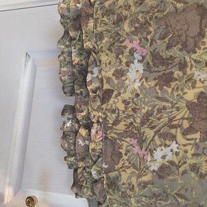 Sigrid Olsen Skirts - Knee length beautiful skirt zipper/button/closure